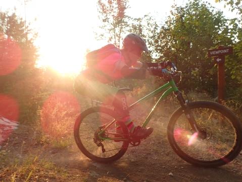 Lori Anne Donald Mountain Biking