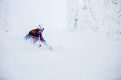 Lori Anne Donald DH Skiing